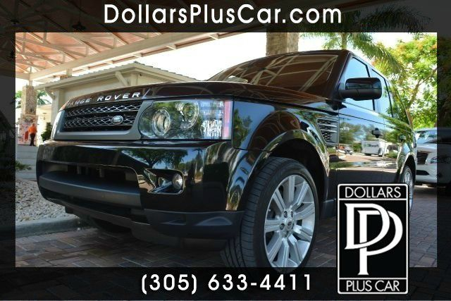 2011 LAND ROVER RANGE ROVER SPORT HSE 4X4 4DR SUV black dollars plus car truly has the best prices