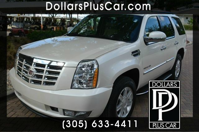 2012 CADILLAC ESCALADE BASE 4DR SUV white dollars plus car truly has the best prices  market pric