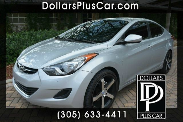 2011 HYUNDAI ELANTRA GLS 4DR SEDAN 6A silver dollars plus car truly has the lo
