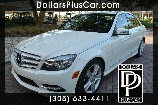 2011 MERCEDES-BENZ C-CLASS C300 SPORT 4DR SEDAN white dollars plus car truly has the lowest prices