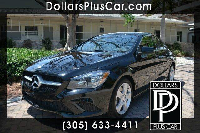 2015 MERCEDES-BENZ CLA-CLASS CLA250 4DR SEDAN black dollars plus car truly has the best cars and