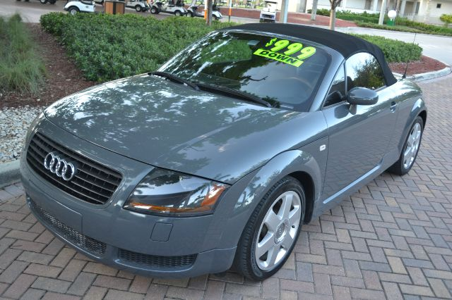 2001 AUDI TT ROADSTER gray beautiful audi tt that is ready to turn heads and impress all of those