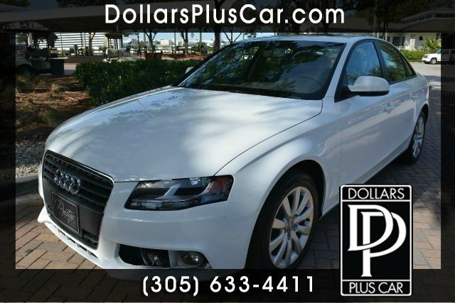 2012 AUDI A4 20T PREMIUM 4DR SEDAN white dollars plus car truly has the best prices   average m