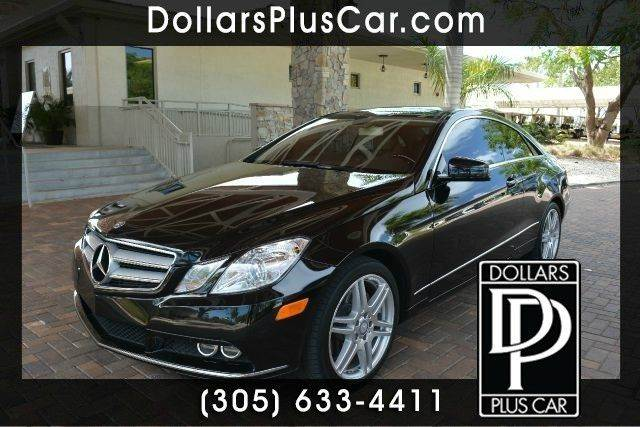 2011 MERCEDES-BENZ E-CLASS E350 2DR COUPE black dollars plus car truly has the best cars and the