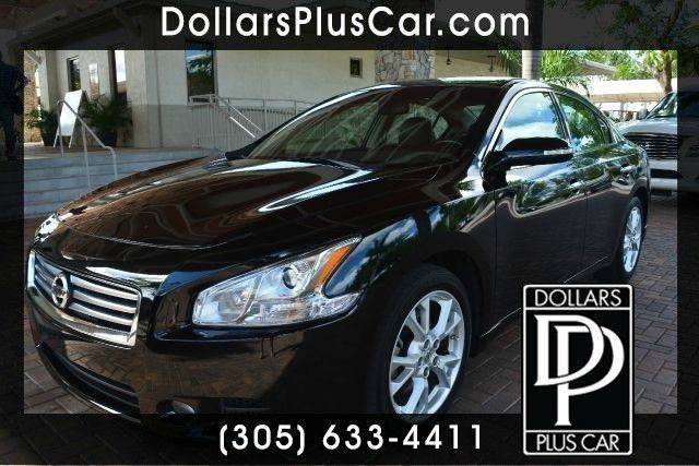 2012 NISSAN MAXIMA 35 SV 4DR SEDAN black dollars plus car truly has the lowest prices   market