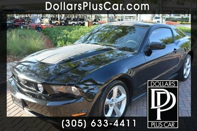 2012 FORD MUSTANG GT COUPE black dollars plus car truly has the best prices    market price for t