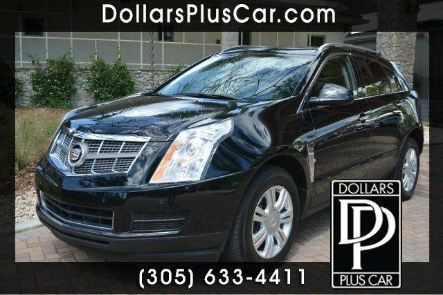 2012 CADILLAC SRX LUXURY COLLECTION 4DR SUV black dollars plus car truly has the best cars and th