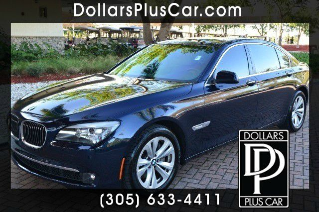 2011 BMW 7 SERIES 740LI 4DR SEDAN blue dollars plus car truly has the best prices   average marke