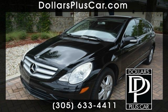 2008 MERCEDES-BENZ R-CLASS R350 black we have financing available for all yours financial needs