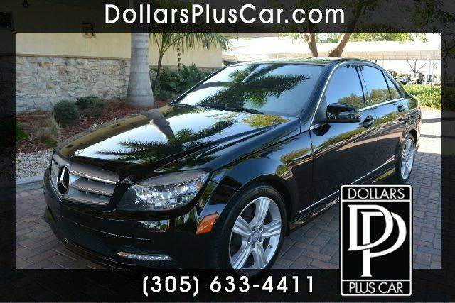 2011 MERCEDES-BENZ C-CLASS C350 SPORT 4DR SEDAN black dollars plus car truly has the lowest price