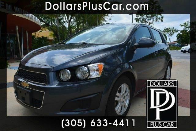 2013 CHEVROLET SONIC LT AUTO 4DR HATCHBACK W 1SD gray dollars plus car truly has the best cars a