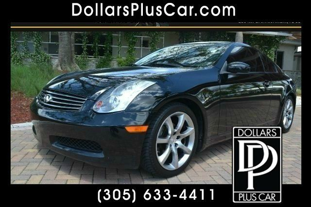 2004 INFINITI G35 COUPE WITH LEATHER black we have financing available for all yours financial nee