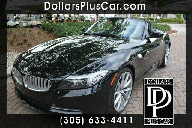 2011 BMW Z4 SDRIVE35I 2DR CONVERTIBLE black dollars plus car truly has the best prices   average