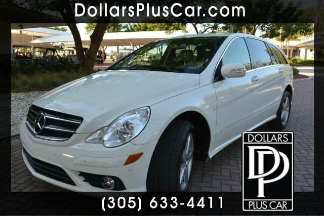 2010 MERCEDES-BENZ R-CLASS R350 AWD 4MATIC 4DR WAGON white dollars plus car truly has the best pri