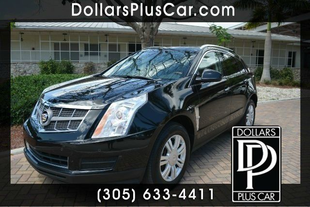 2010 CADILLAC SRX LUXURY COLLECTION 4DR SUV black dollars plus car truly has the best cars and th