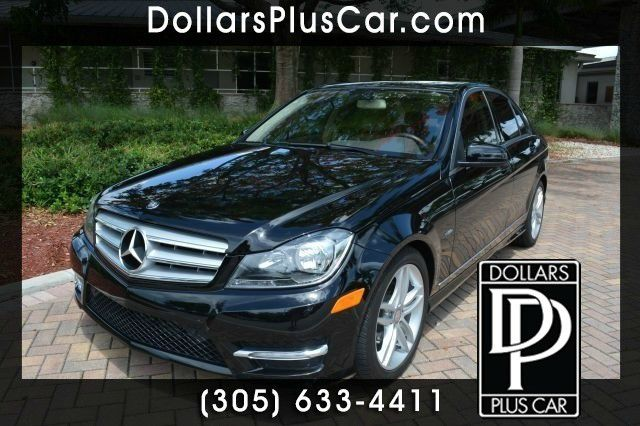 2012 MERCEDES-BENZ C-CLASS C250 SPORT 4DR SEDAN black dollars plus car truly has the lowest prices