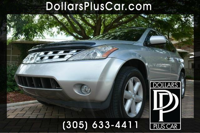 2004 NISSAN MURANO SE 4DR SUV gray dollars plus car truly has the best prices   average market pr