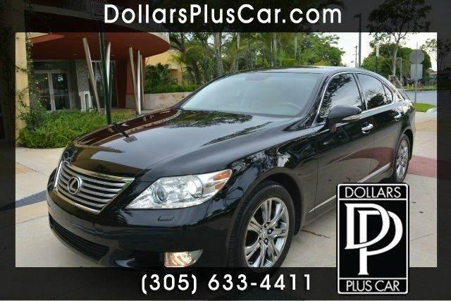 2010 LEXUS LS 460 BASE AWD 4DR SEDAN black dollars plus car truly has the best prices   average