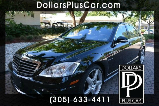 2008 MERCEDES-BENZ S-CLASS S65 AMG 4DR SEDAN black dollars plus car truly has the best prices  ma