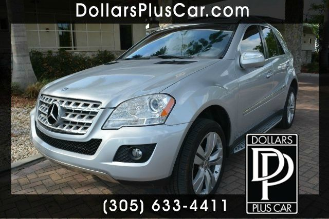 2010 MERCEDES-BENZ M-CLASS ML350 4DR SUV silver dollars plus car truly has the best prices     ma