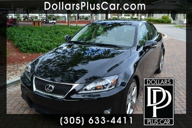 2011 LEXUS IS 250 250 RWD black dollars plus car truly has the best prices   market price for thi