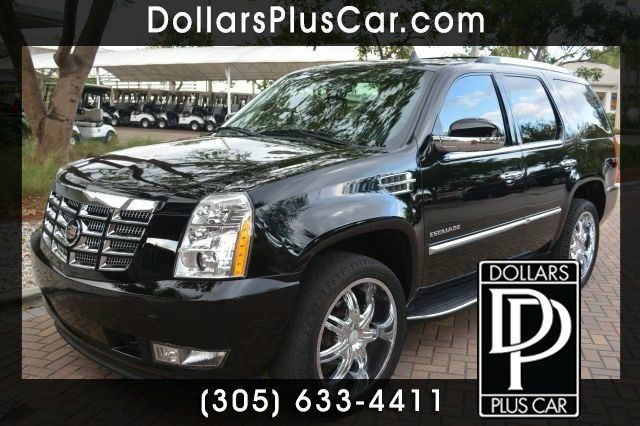 2011 CADILLAC ESCALADE 2WD black dollars plus car truly has the lowest prices   market price for