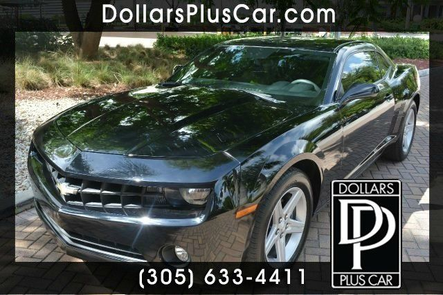 2010 CHEVROLET CAMARO LT 2DR COUPE W1LT black dollars plus car truly has the best prices  market