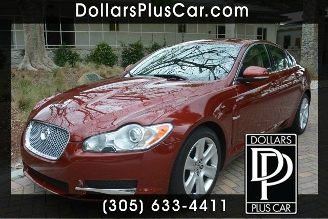 2010 JAGUAR XF BASE 4DR SEDAN red dollars plus car has the best cars and the best prices   marke