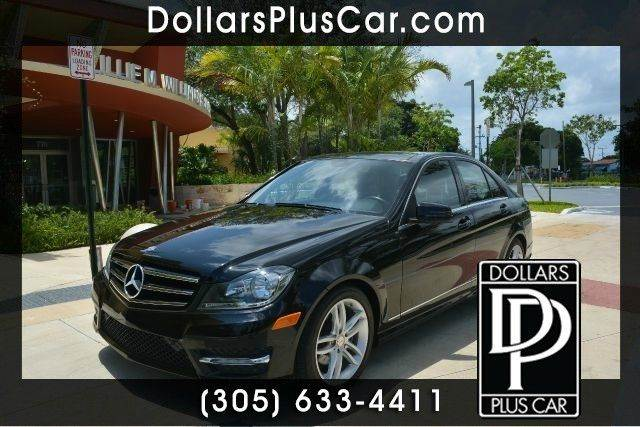 2013 MERCEDES-BENZ C-CLASS C250 LUXURY 4DR SEDAN black dollars plus car has the best prices and t