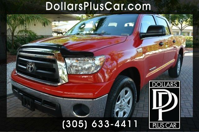 2010 TOYOTA TUNDRA GRADE 4X2 4DR CREWMAX CAB PICKUP red dollars plus car truly has the best prices