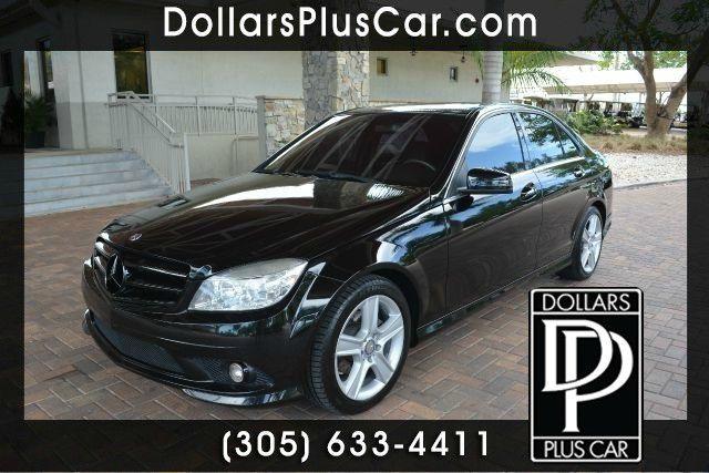 2010 MERCEDES-BENZ C-CLASS C300 LUXURY 4DR SEDAN black dollars plus car truly has the best cars a