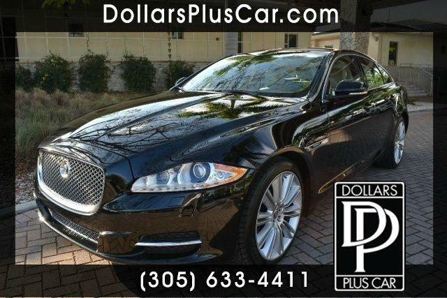 2011 JAGUAR XJ SUPERCHARGED 4DR SEDAN black dollars plus car truly has the lowest prices   market