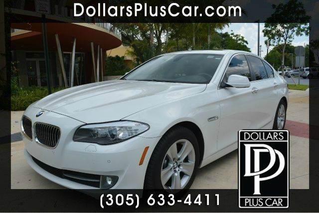 2012 BMW 5 SERIES 528I 4DR SEDAN white dollars plus car truly has the best prices   average mark