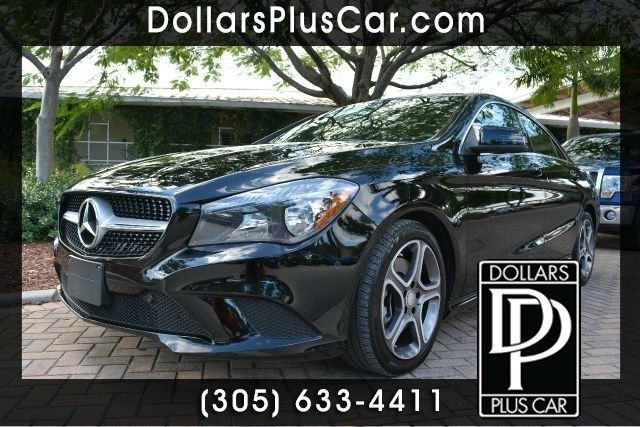 2014 MERCEDES-BENZ CLA-CLASS CLA250 4DR SEDAN black dollars plus car truly has
