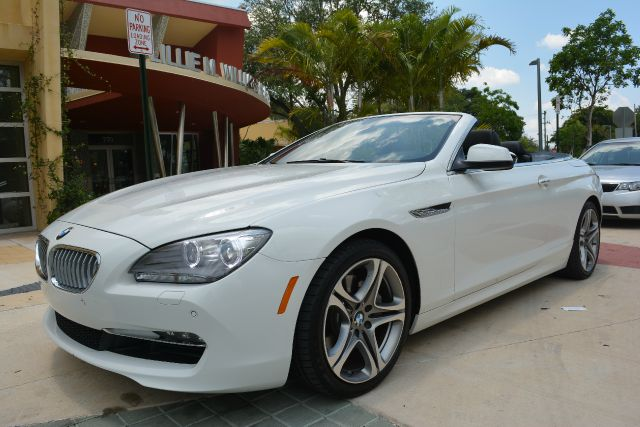2012 BMW 6 SERIES 650I 2DR CONVERTIBLE white dollars plus car has the best cars and the best pric