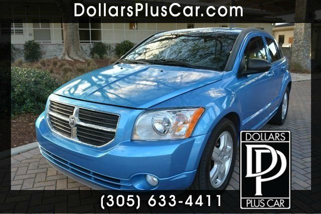 2009 DODGE CALIBER SXT 4DR WAGON blue this blue dodge caliber is the perfect vehicle if youre in