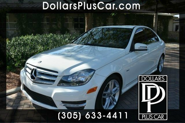 2012 MERCEDES-BENZ C-CLASS C250 LUXURY 4DR SEDAN white dollars plus car truly has the lowest price