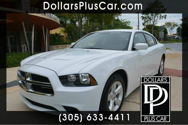 2013 DODGE CHARGER SE 4DR SEDAN white dollars plus car truly has the best prices  market price f