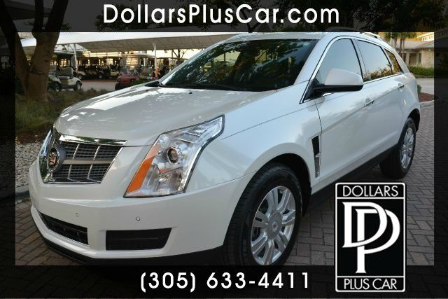 2010 CADILLAC SRX LUXURY COLLECTION 4DR SUV white dollars plus car truly has the best prices  mar