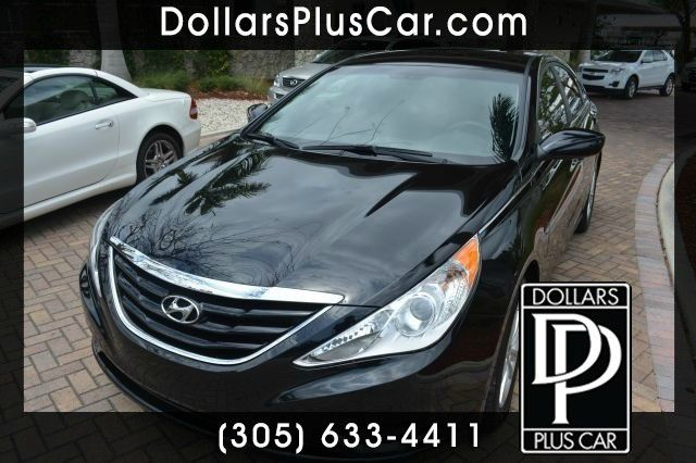 2012 HYUNDAI SONATA GLS AUTO black dollars plus car truly has the lowest prices   market price fo