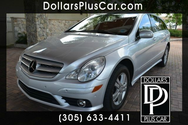 2008 MERCEDES-BENZ R-CLASS R350 4DR WAGON silver dollars plus car truly has the best prices   ave