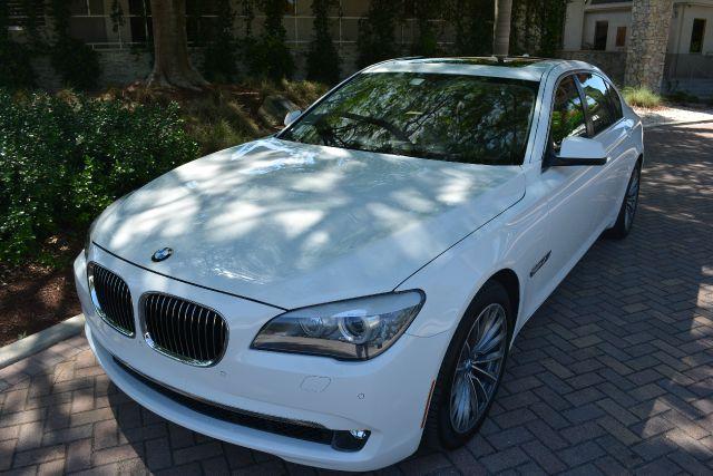 2012 BMW 7 SERIES 740LI 4DR SEDAN white dollars plus car truly has the best prices   average mark