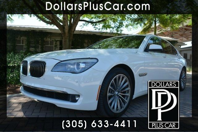 2012 BMW 7 SERIES 740LI 4DR SEDAN white dollars plus car truly has the best prices   average mark