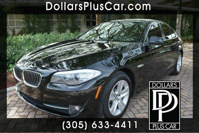 2011 BMW 5 SERIES 528I 4DR SEDAN black dollars plus car truly has the best prices   average marke