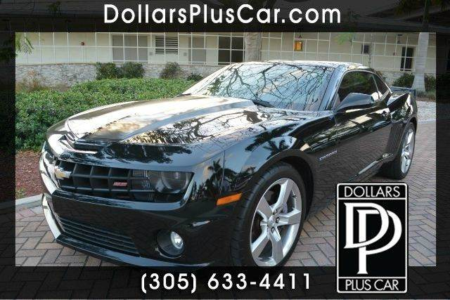 2012 CHEVROLET CAMARO SS 2DR COUPE W1SS black dollars plus car truly has the best prices  marke