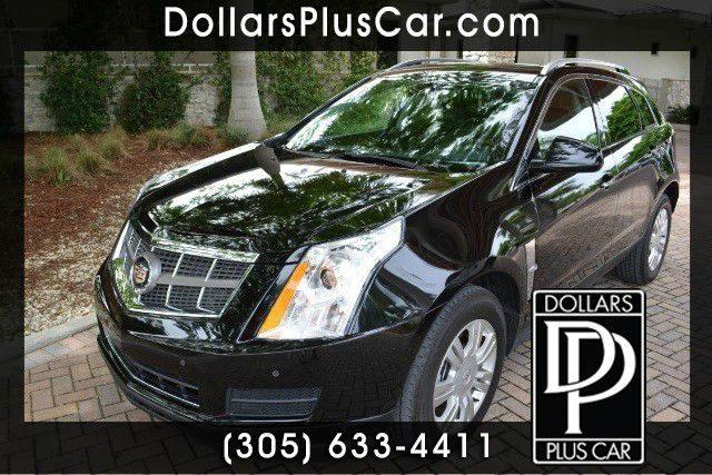 2011 CADILLAC SRX LUXURY COLLECTION 4DR SUV black dollars plus car truly has the best prices  mar