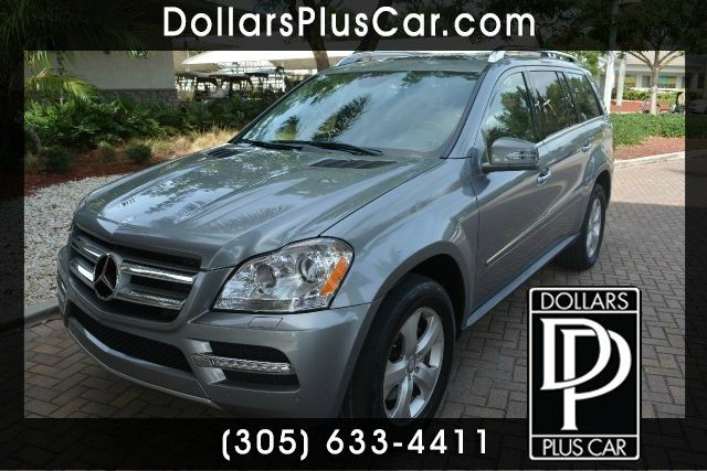 2012 MERCEDES-BENZ GL-CLASS GL450 AWD 4MATIC 4DR SUV silver dollars plus car truly has the best pr
