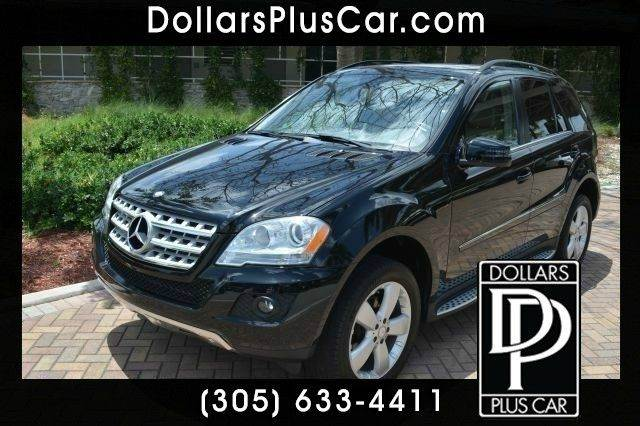 2011 MERCEDES-BENZ M-CLASS ML350 4DR SUV black dollars plus car truly has the best prices     ma