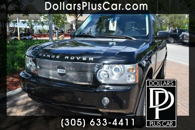 2006 LAND ROVER RANGE ROVER SUPERCHARGED black we truly have the best prices   market price for t