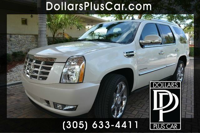2010 CADILLAC ESCALADE HYBRID BASE 4DR SUV white dollars plus car truly has the best prices     r